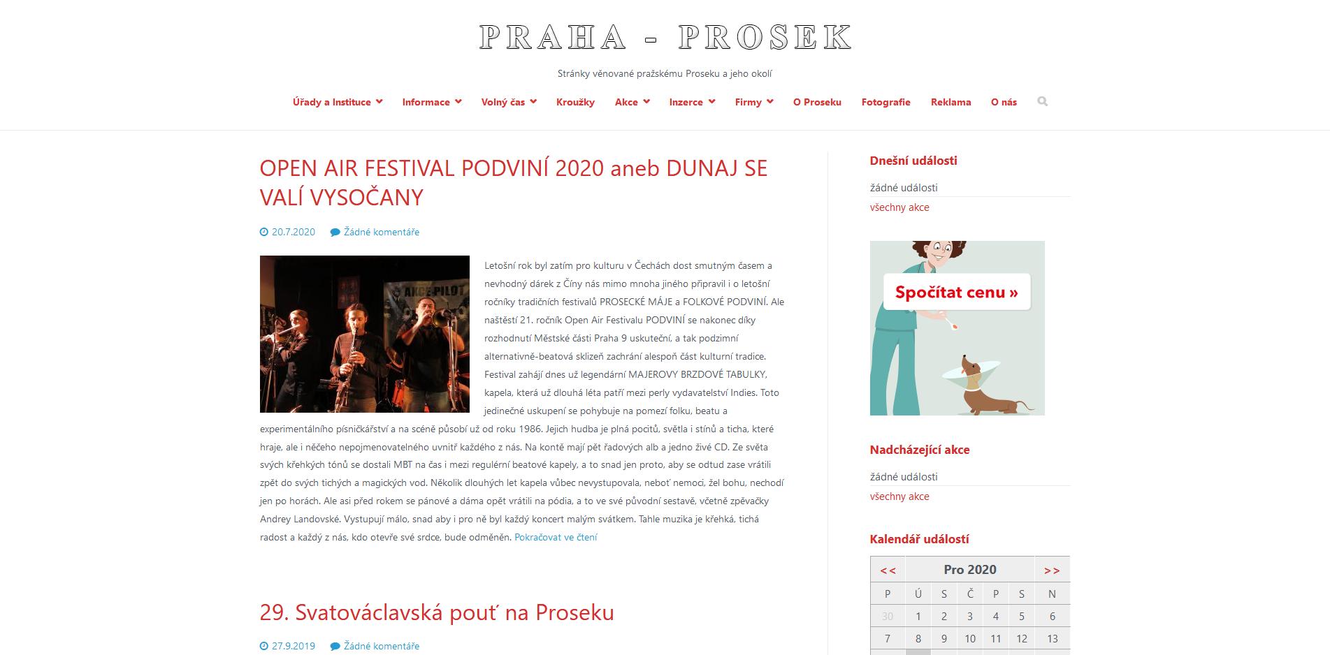 Praha-Prosek cz